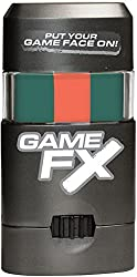 GameFX PUT YOUR GAME FACE ON Face Paint (Green-Orange-Green)
