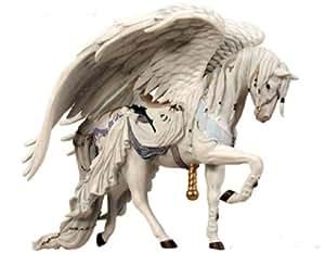 NEW Angel White Horse Ornament Nene Thomas Fairies Couture White Carousel Horse