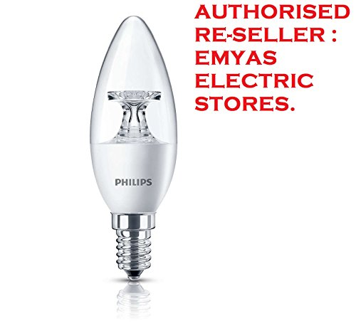 Philips 3.5W E14 Candle LED Bulb (Warm White)