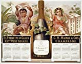 Mumm Champagne - Vintage Mouse Mat