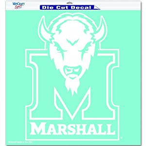 Buy NCAA Marshall Thundering Herd 18-by-18 inch Diecut Decal by WinCraft