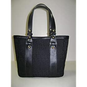 Fendi Handbags Black Shopping Tote 8BH161 - TN9 I0WN1