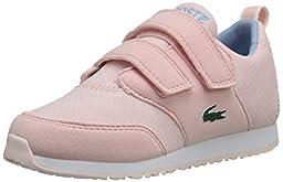 Lacoste L.Ight 116 1 Sneaker (Toddler/Little Kid/Big Kid), Light Pink, 4 M US Toddler