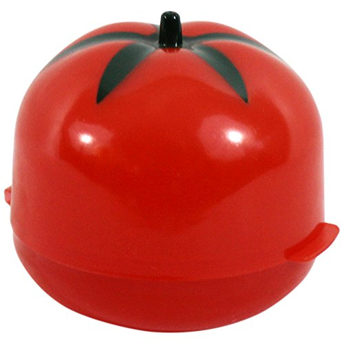 "Tomato Saver. This Tomato Food Saver Is The Best Way To Refrigerate And Keep Cut Tomatoes Fresh And Ready To Eat. Tomato Food Savers Are A Fun Way To Preserve The Freshness Of Your Tomatoes. Measure 3.5"" Tall With A Diameter Of 3.75""."