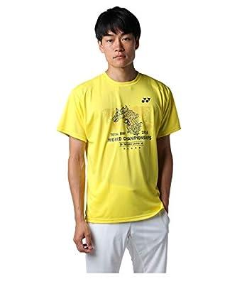 ヨネックス テニスウェア Tシャツ 半袖 メンズ 2018世界選手権限定tシャツ Yob18250 279(YE) S