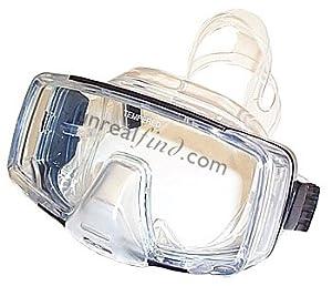 Promate Hornet Tri-View Purge Mask Blue