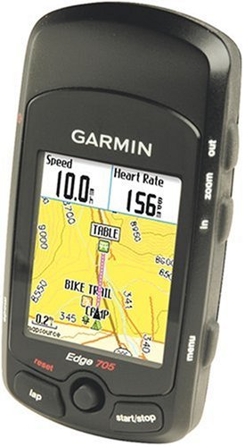 Garmin Edge 705 GPS-Enabled Cycling Computer (Includes Heart Rate Monitor)
