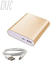 UNIC 12000mah Fashionable USB Powerbank/ Portable Mobile Charger -UN12K2-Golden