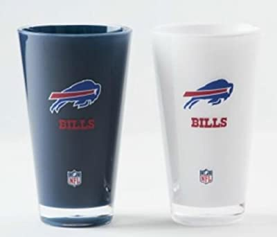 Buffalo Bills Official NFL 20 fl. oz. Tumbler Cup Set by Duck House