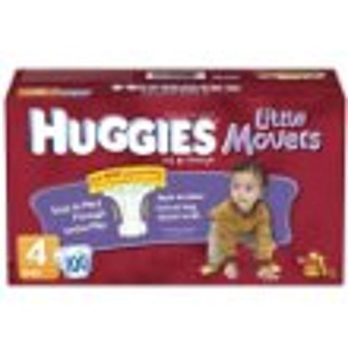 Huggies Supreme Little Movers Diaper - 12 per pack -- 9 packs per case. - 1