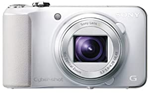 Sony Cyber-shot DSC-HX10V 18.2 MP Exmor R CMOS Digital Camera with 16x Optical Zoom and 3.0-inch LCD (White) (2012 Model)