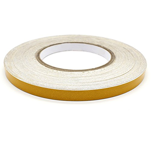 Water & Wood Reflective Pinstripe Tape - Pinstriping Cars Motorcycles stickers, Yellow (3m Yellow Tape Automotive compare prices)