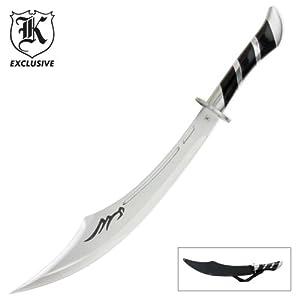 BudK Exclusive Arabian Sands Scimitar Sword with Sheath