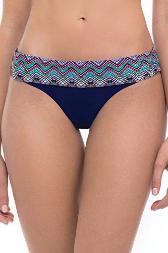 Profile by Gottex Marimba Fold-Over Bikini Swim Bottom, 12, Ink (Gottex Profile Swim Bottom compare prices)