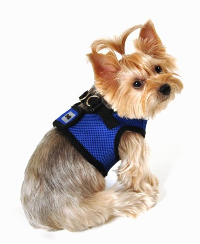 SimplyWag Dog Body Harness, X-Small, Blue