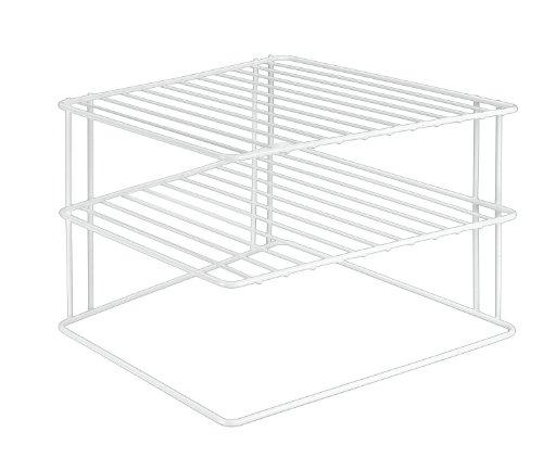 Metaltex Silos 364202 tagre d'angle porte-assiettes Blanc 25 x 25 x 19 cm