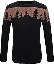 SSL RMen39s Crewneck Long Sleeve Pullover Sweater