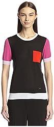 Salvatore Ferragamo Women's Shirt, Multi, S