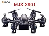 MJX-X901-24G-Mini-RC-Drone-Hexacopter-6-Axis-Gyro-RTF-UAV-3D-Roll-G-Sensor-Control-Headless-Helicopter-Smallest-Aircraft-Black