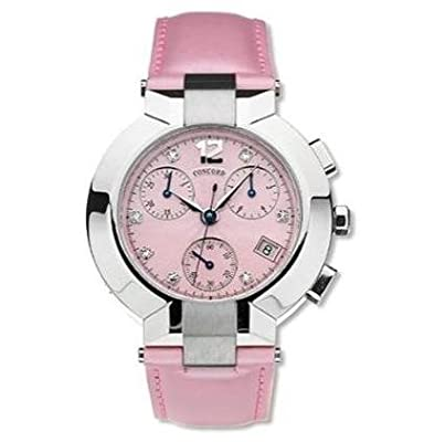 Concord La Scala Chronograph Diamond Hour Markers Women's Watch