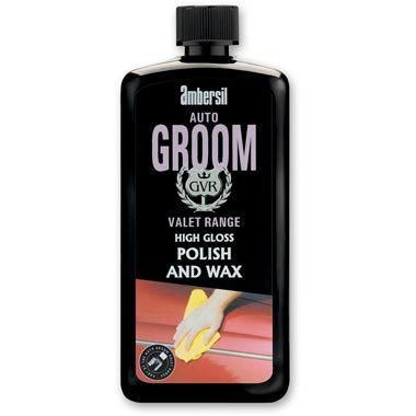 AMBERSIL GROOM HIGH GLOSS POLISH AND WAX 750 ml VALET RANGE SHOWROOM FINISH