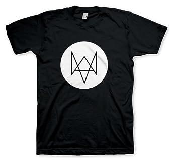 Watch Dogs - Fox T-Shirt, Black, Small