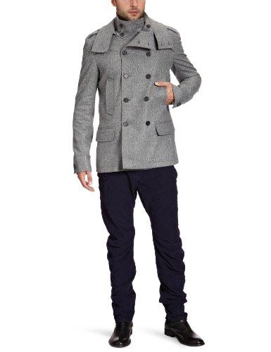 Rich&Royal Men's 23K888 Jacket Grey (876Phantom) 46