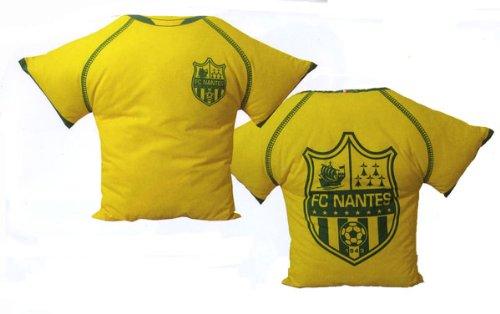 Coussin Maillot FC NANTES - Déco maison Chambre Lit sallon - Collection  officielle FC NANTES ATLANTIQUE 30346c69b49