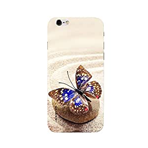 iSweven printed iph6p_3280 Big butterfly Design Multicolored Matte finish Back case cover for Apple iPhone 6 plus