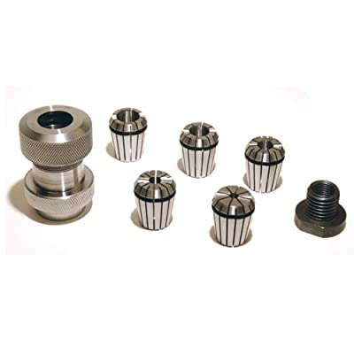 PSI Woodworking Products LCDOWEL Dowel Collet Chuck System by PSI Woodworking