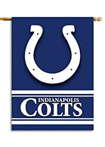 NFL Indianapolis Colts 2-Sided 28-by-40-Inch House Banner by Fremont Die