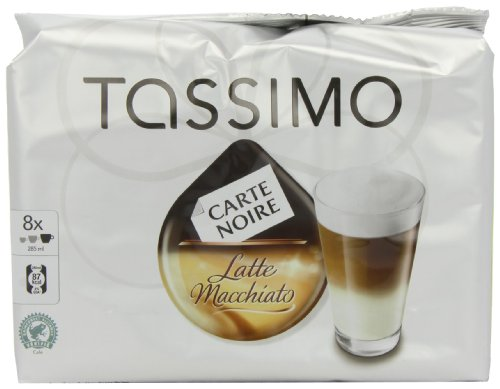 Purchase TASSIMO Carte Noire Latte Macchiato 16 discs, 8 Servings (Pack of 5, Total 80 discs, 40 servings) from Kraft Foods