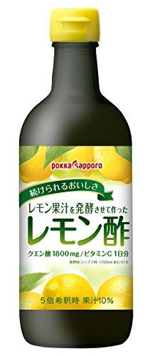 ポッカサッポロ レモン酢 450ml