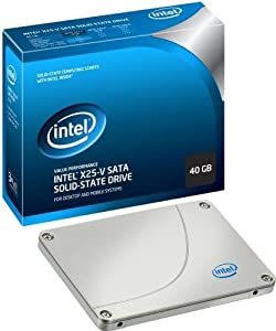 Intel 40 GB X25-V Value SATA II MLC Solid-State Drive - Retail Box SSDSA2MP040G2R5