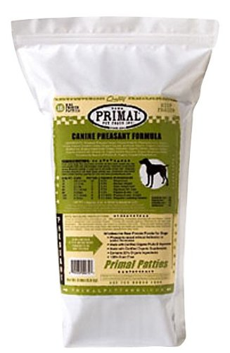 Primal Pet Foods 850130 Canine Pheasant Patties, 6-Pound