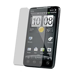 Skinomi TechSkin - Invisible Screen Protector Shield for HTC EVO 4G + LIFETIME REPLACEMENTS