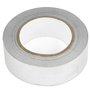 TRIXES 40mm X 50m Aluminium Foil Insulation Tape Heat Reflecting Adhesive