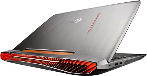 ASUS ROG G752VY-DH78K 17-Inch Gaming Laptop, Overclocked CPU i7-6820HK, Nvidia GeForce GTX 980M 8 GB VRAM, 64 GB DDR4, 1...