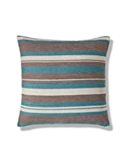 Felted Striped Cushion
