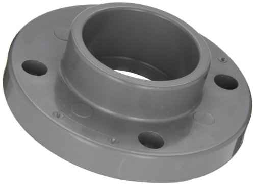 """Spears 851-C Series Cpvc Pipe Fitting, One Piece Flange, Class 150, 2"""" Socket"""