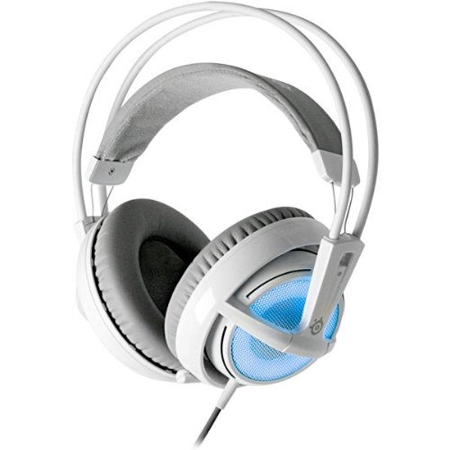 Brand New Steelseries Siberia V2 Full Size Headset - Frost Blue Edition