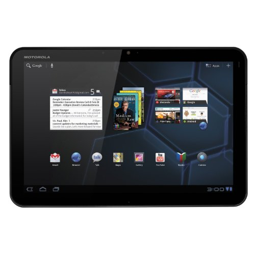 MOTOROLA XOOM Android Tablet 10.1-Inch, 32GB, Wi-Fi - Factory Refurbished