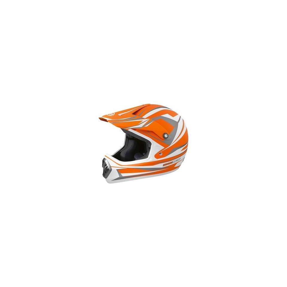 Moose Racing M1 Helmet   Small/Black/Grey Automotive