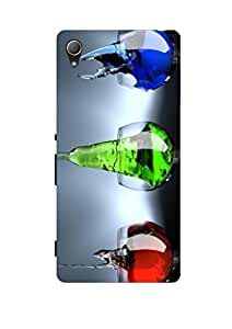 Joe Printed Hard Back Case For Sony Xperia XA Ultra Mobile (Multicolor)