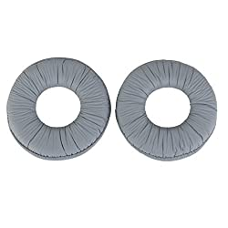 Imported Ear Pads Cushions for Sony MDR ZX100 ZX300 Headset Headphone Grey-14019503MG