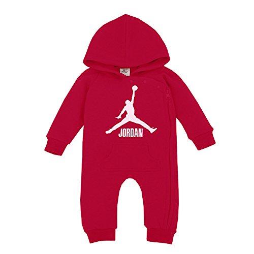 YISET Baby Clothing Long Sleeve Hooded Jordan Baby Rompers Jump Suit (13-18 Months)