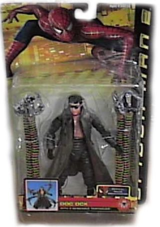 Buy Low Price Toy Biz Marvel Spider-Man 2 Doc Ock Action Figure with 4 Bendable Tentacles by Toy Biz (B000ANL7AE)