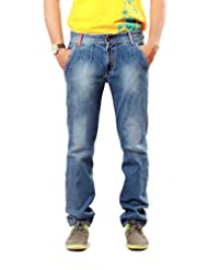 Uber Urban Mens Slim Fit Slack Denim 1