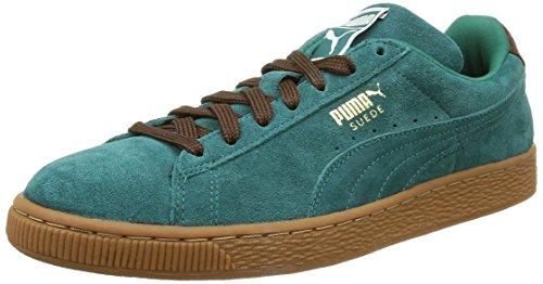 PumaClassic Casual - Sneaker Uomo , Verde (Vert (Storm/Oxblood/Gum)), 43
