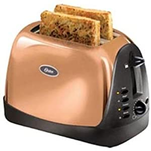 Amazon.com: Oster 6309 2-Slice Toaster Copper: Kitchen & Dining